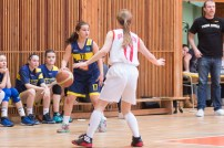 basketbalový zápas starších žiačok vo Zvolene