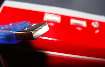 Segurando a ações da instrução, você provavelmente conectará o amplificador ou outro equipamento semelhante ao PC. No caso de questões adicionais em relação a certas nuances do processo descrito, peça-lhes em comentários.