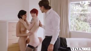 الزوجة المثالية تساعد زوجها في نيك المراهقة سكس ثلاثي مترجم