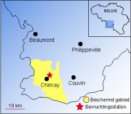 chimay beschermingszone