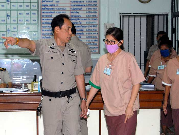 Sudathip is already facing two and a half years in prison for using her ties to the Thai Royal Family to benefit her foodstuff business.
