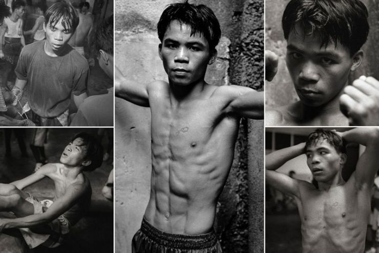 Manny Pacquiao 17 years old
