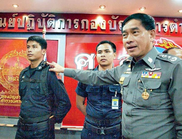 March, 2013. Commander of the Bangkok Metropolitan Police Pol.Lt.Gen. Kamronwit Thoopkrachang (Before)
