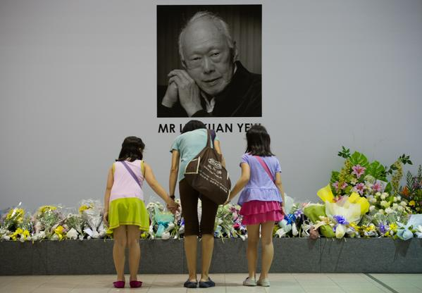 RIP Lee Kuan Yew. Job well done. Died on March 23, 2015
