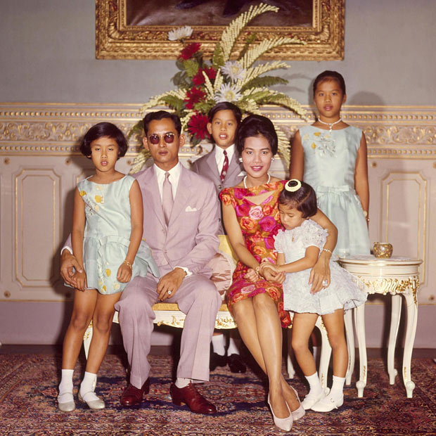 The Thai Royal Family in 1962