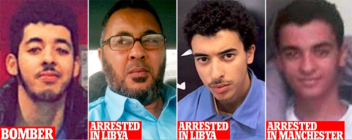 the family of Manchester Arena bomber Salman Abedi has emerged tonight, as his father who had Al-Qaeda links and his younger brother were arrested in Tripoli