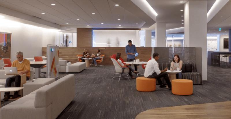 Steelcase modern office space