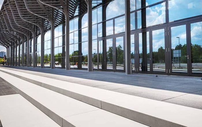 Architekturfotografie Messe Nürnberg