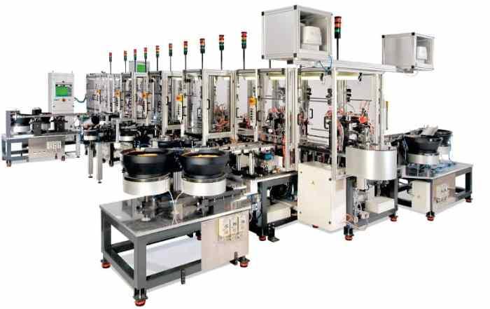 Postproduktion Montageautomat retuschiert