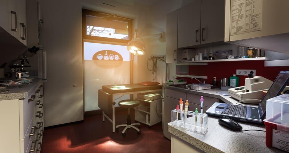 Kinderarzt-Labor vom Fotograf von zweckdesign