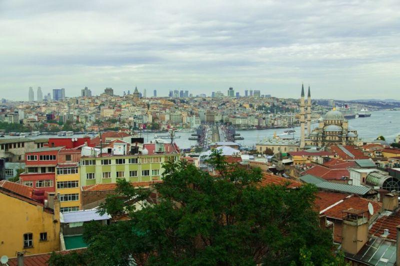 Überlebenstipps für Istanbul - Aussicht Dach