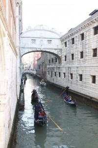 Gondel im Kanal