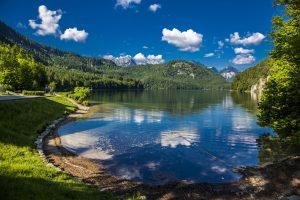 Der wunderschöne Alpsee bei Füssen