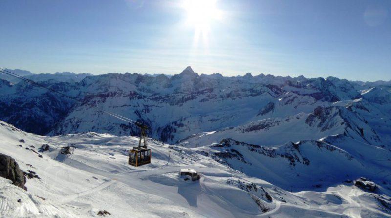 Skigebiet Nebelhorn im Allgäu