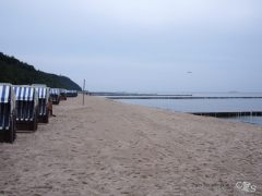 Nieselregen am Strand