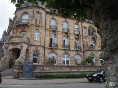 schöne alte Häuser
