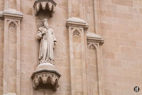 Palma de Mallorca - La Seu Figur