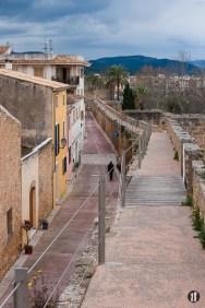 Mallorca - Inseldörfer - Alcudia Stadtmauer