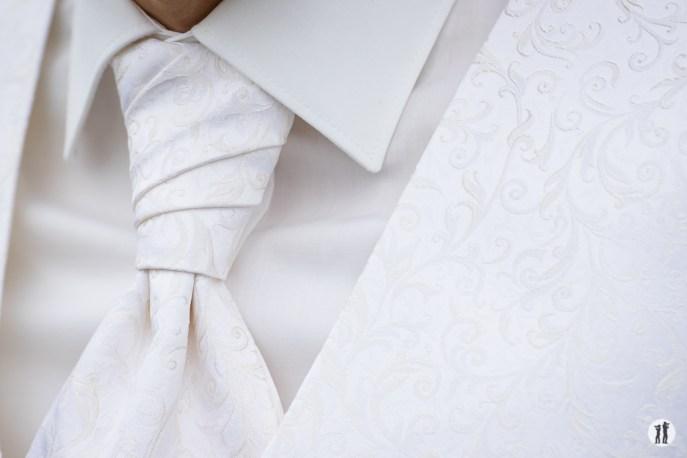 Hochzeit - Plastron