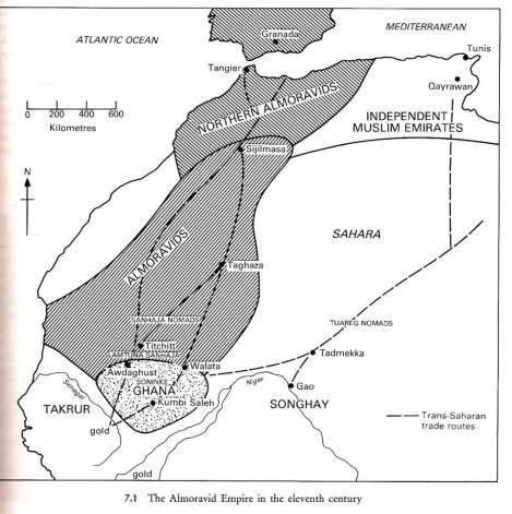 impero almoravide nell'XI secolo