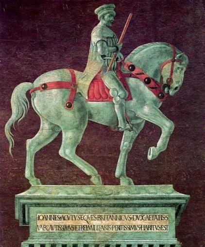 statua equestre di John Hawkwood