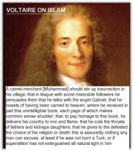 Voltaire e l'islam