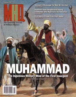 Maometto sulla copertina del Quarterly Journal of Military History