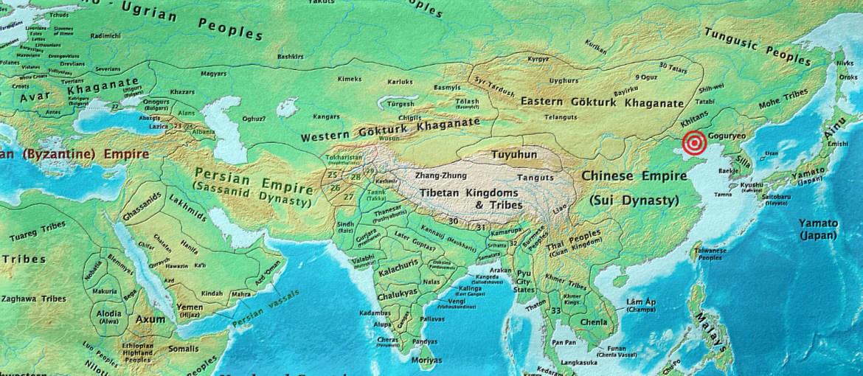 asia 600 AD