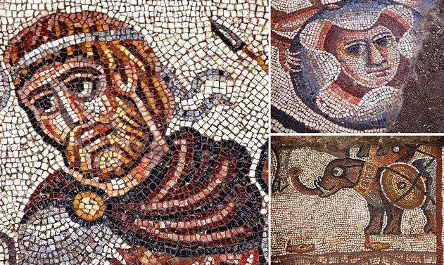 mosaico sinagoga