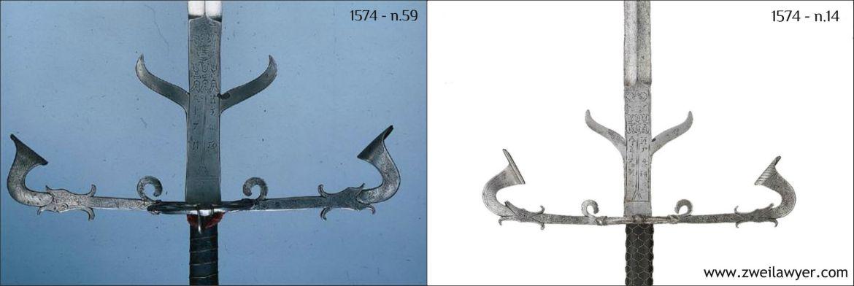 bearing swords