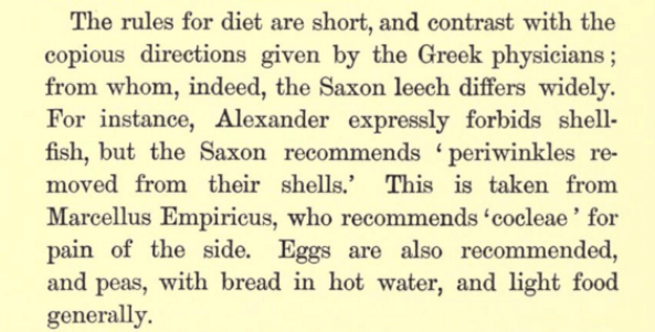 English medicine in the Anglo Saxon times two ...
