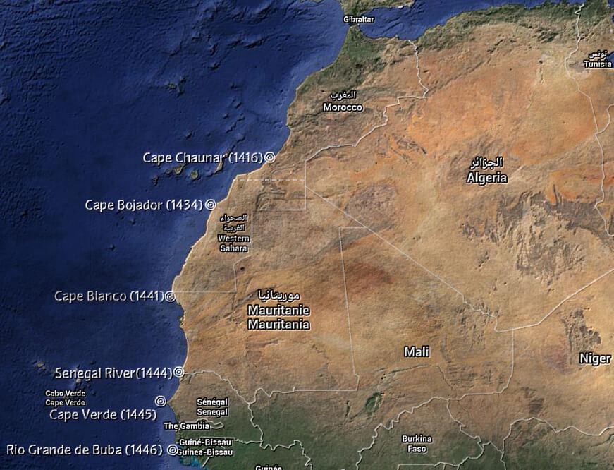 le esplorazioni e colonie portoghesi