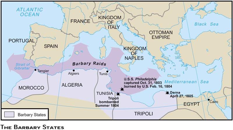 Stati barbareschi schiavi bianchi