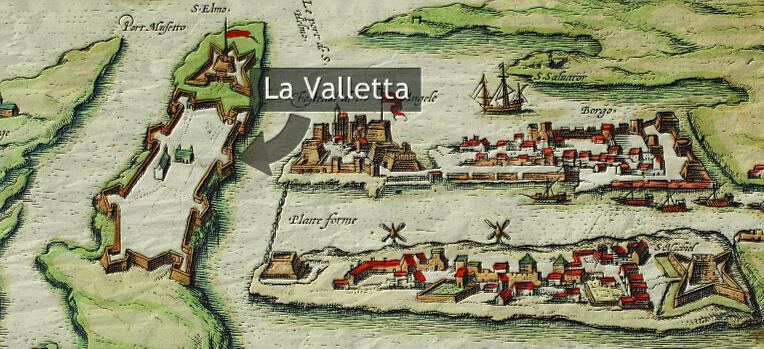cavalieri di malta - malta 1566