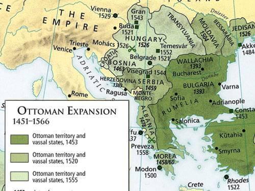impero ottomano conquista di costantinopoli