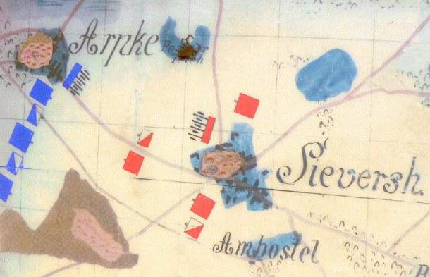 Sievershausen_Schlacht_Plan