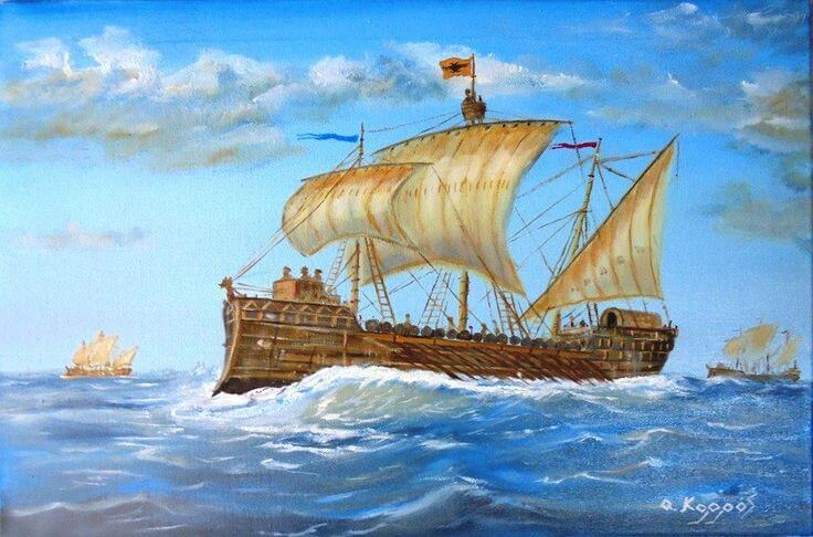 marina pontificia dromone