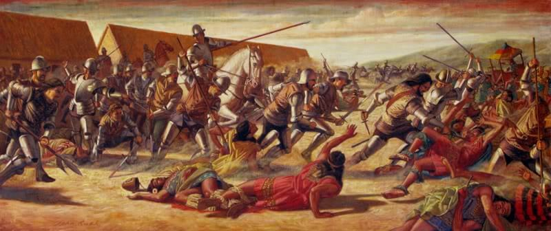 battaglia inca
