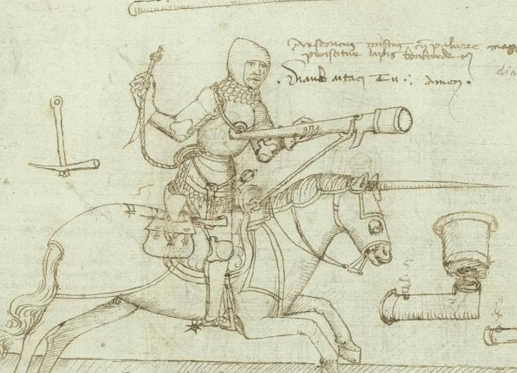 artiglieria medievale eques-schioppectarius