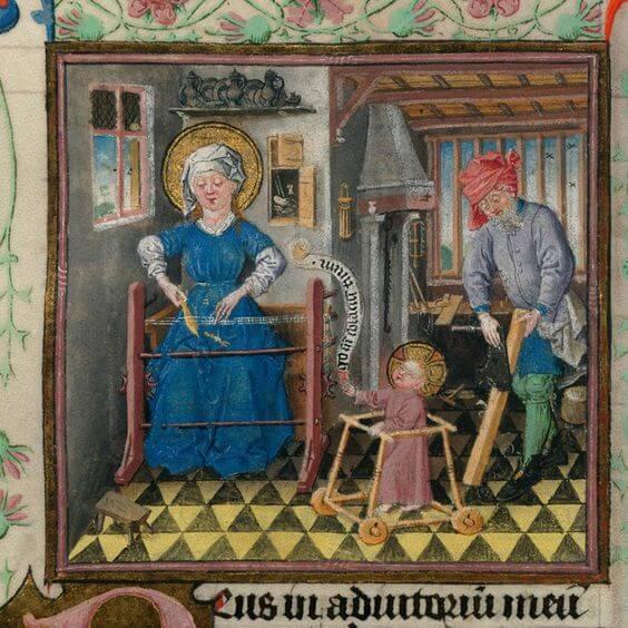 famiglia medioevo