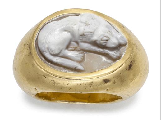 in vendita 7fadf b396f Anelli Romani: 5 Esemplari - Zhistorica