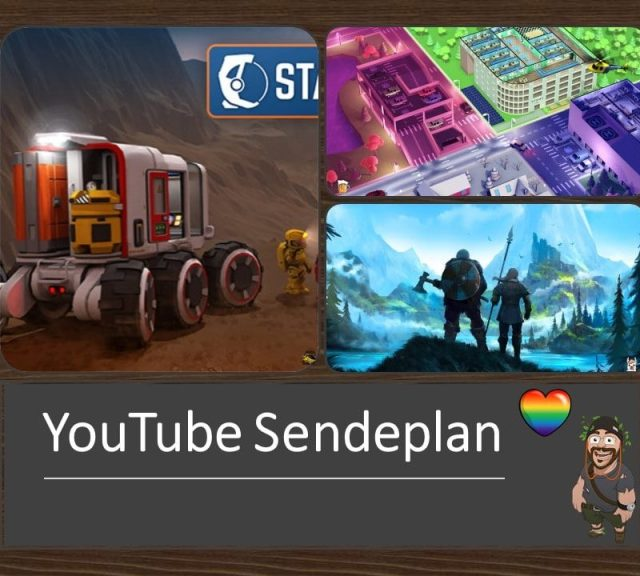 YouTube Sendeplan