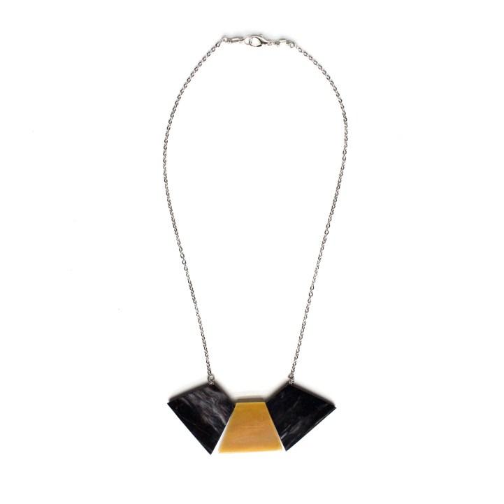Silver Trapezoid Collar