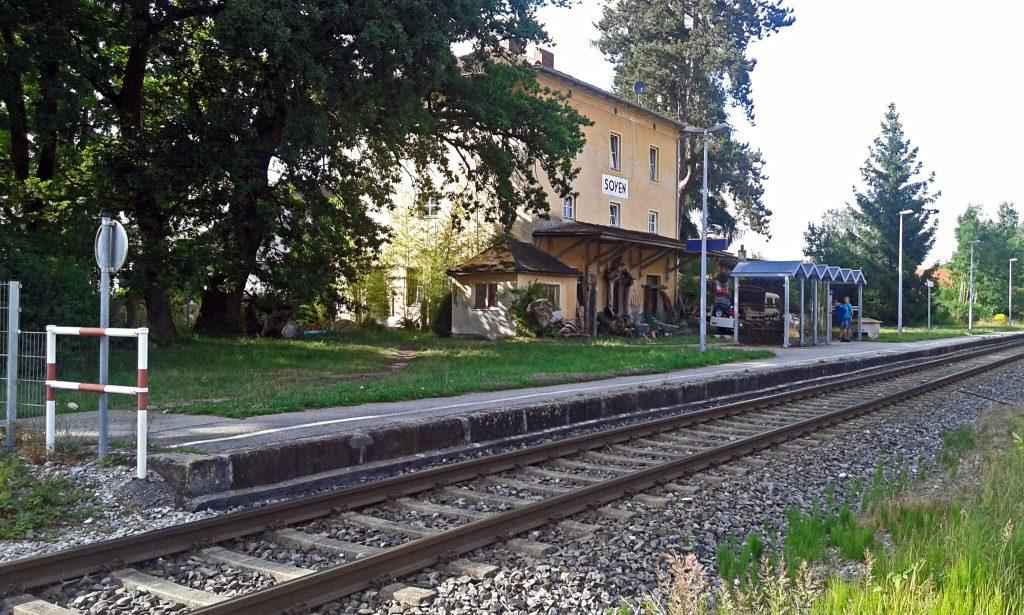 Bahnhöfe der Region - Soyen