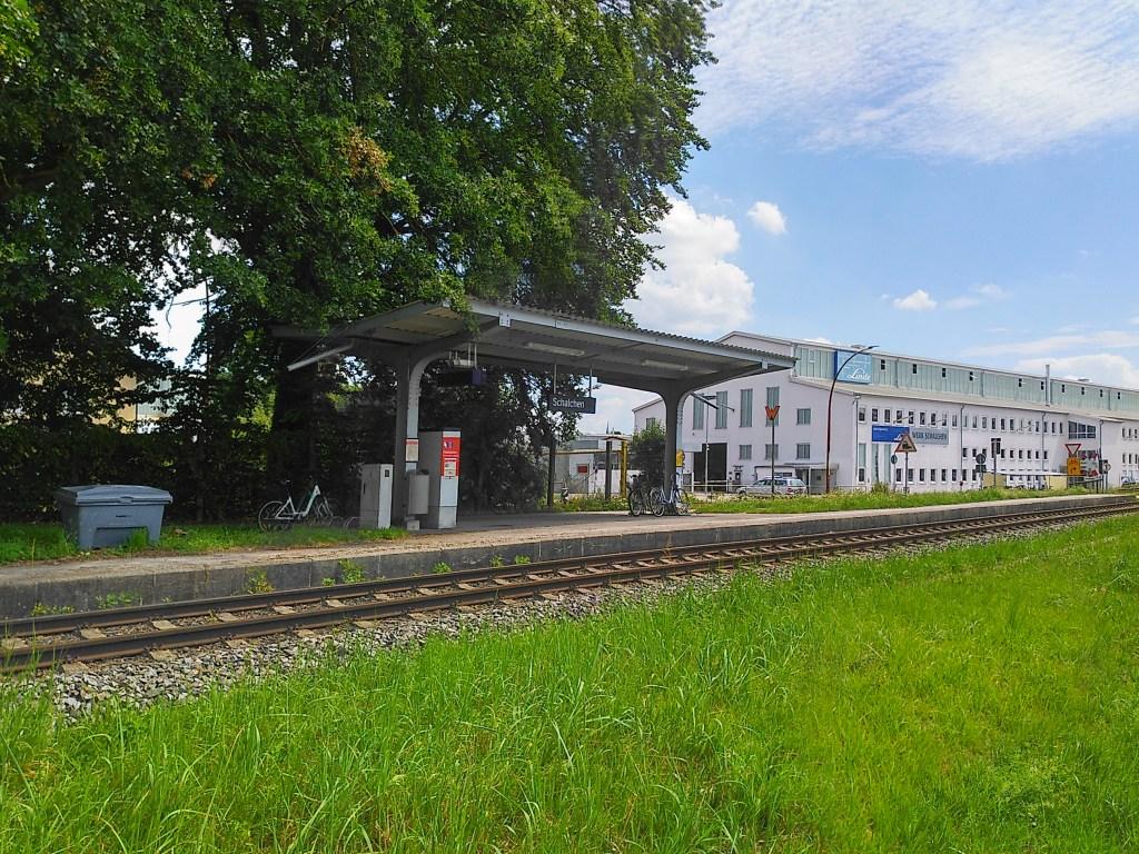 Schalchen Bahnhof - auf der Jagd zum zweiten Prozent