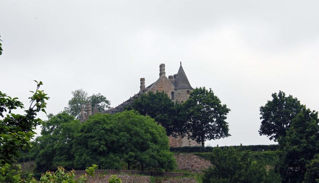 La Chateau la Roche Jagu - wie im Märchen