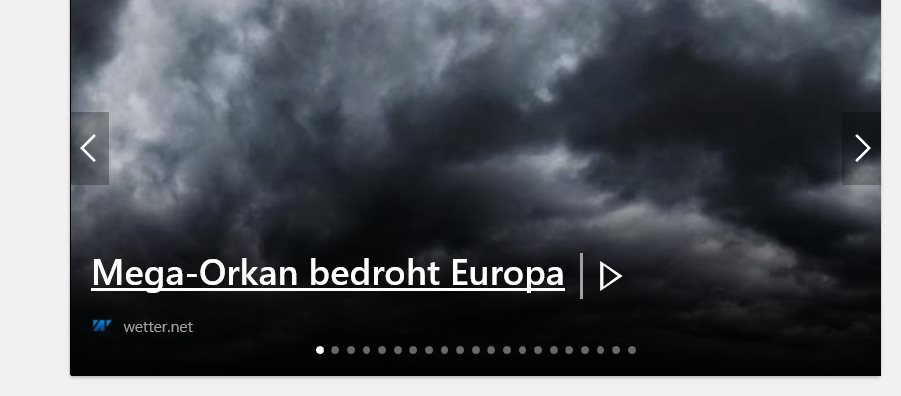 German Angst vor Orkanen