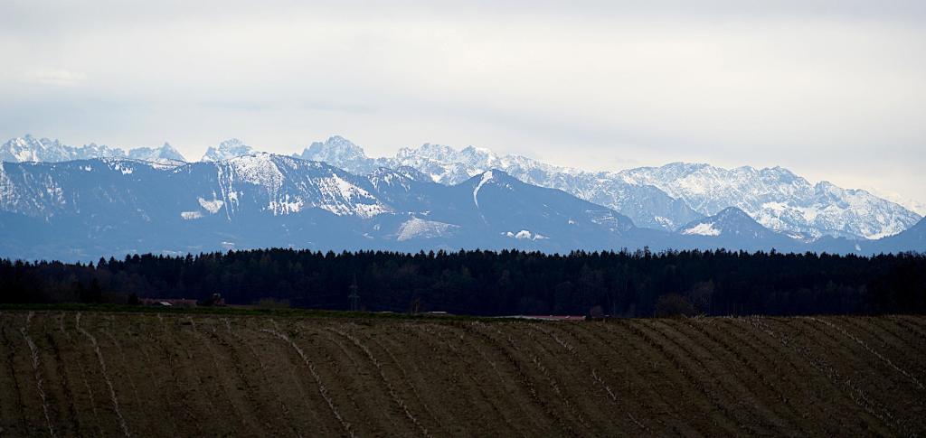Alpenpanorama - die Berge bei Föhn