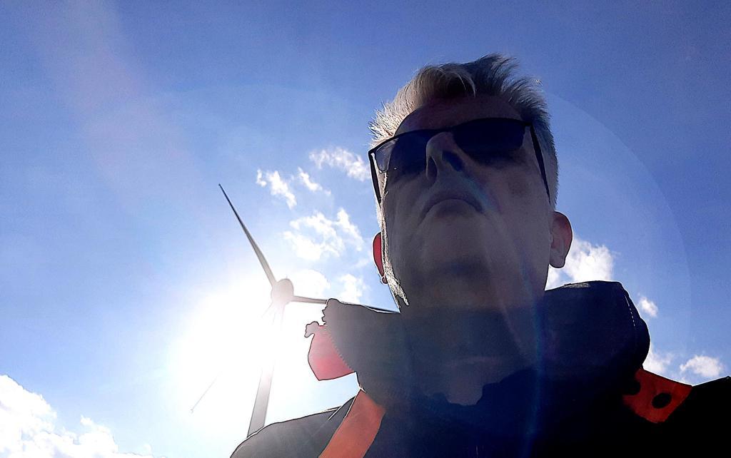 Selfie auf dem Fröttmaninger Berg
