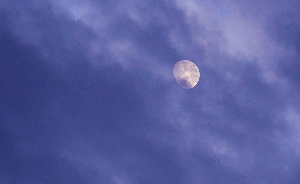 Wetterleuchten - Mond